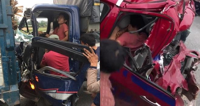"""Tài xế """"đen nhất năm"""": Vừa bị tai nạn gãy 2 chân, đang đi cấp cứu thì bị xe khác tông tiếp"""