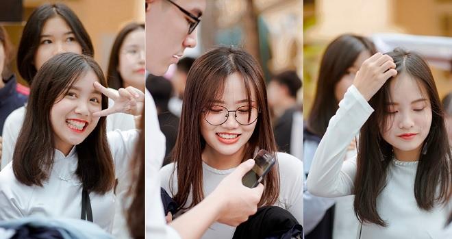Đã mắt ngắm nữ sinh trường Việt Đức xinh ngây ngất trong tà áo dài chào mừng ngày 20/11