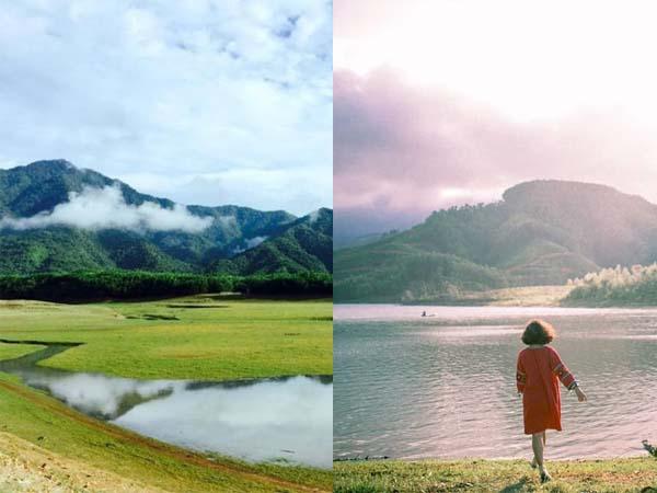 Đà Nẵng xuất hiện địa điểm đẹp như thảo nguyên xanh Mông Cổ đang sốt rần rật