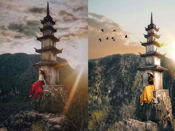 """""""Soán ngôi"""" mọi tọa độ checkin, chính là """"ngọn tháp chọc trời"""" trên đỉnh Vạn Lý Trường Thành phiên bản Việt"""