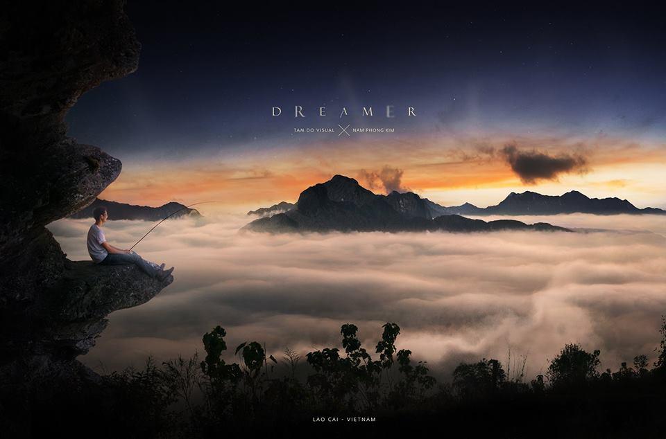 """Đón bình minh đẹp hơn tranh thủy mặc ở """"nóc nhà"""" của Y Tý mang tên: Núi Lảo Thẩn"""
