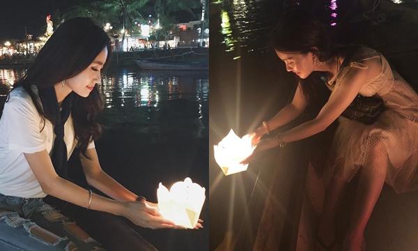 Cần gì phải chờ đến Loy Krathong, Thái Lan khi Việt Nam cũng có lễ hội thả hoa đăng trên sông Hoài đẹp không kém