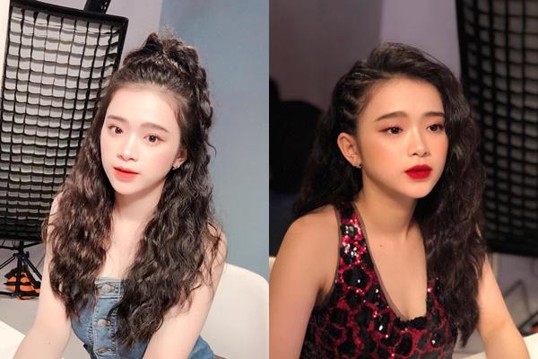 """Theo phong cách tóc xoăn môi đỏ như Bích Phương, Bảo Anh, Linh Ka bị gọi bằng """"bác"""" vì già hơn cả """"cô"""""""