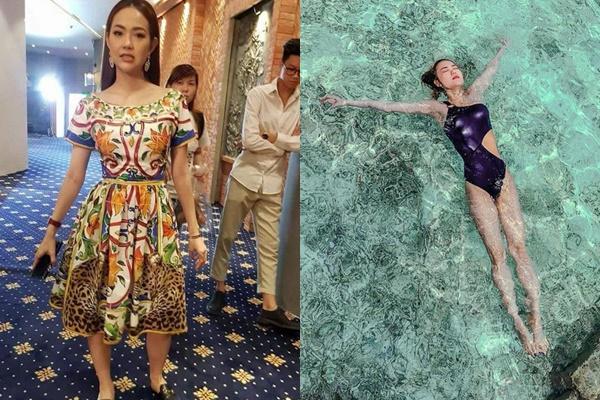 """Chỉ thay đổi 1 góc chụp hình dân tình mới biết Minh Hằng có đôi chân dài """"tỉ lệ vàng"""" đến thế"""