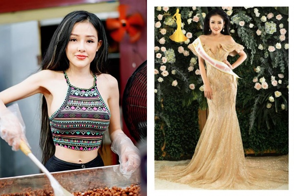 """Mặc kệ thân hình """"sập sệ"""", Ngân 98 bất ngờ công bố lọt vào chung kết Hoa hậu quốc tế khiến CĐM """"há hốc"""""""