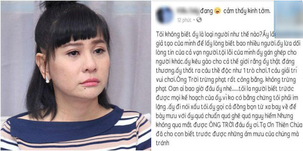 """Chị gái Kiều Minh Tuấn ám chỉ Cát Phượng """"giả tạo, hai mặt"""" lấy nước mắt để kéo tình thương của khán giả?"""