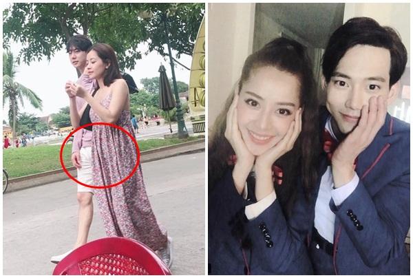 Chi Pu lộ ảnh đi Hội An cùng bạn trai Hàn, vòng 1 to bất thường bị nghi mang bầu?