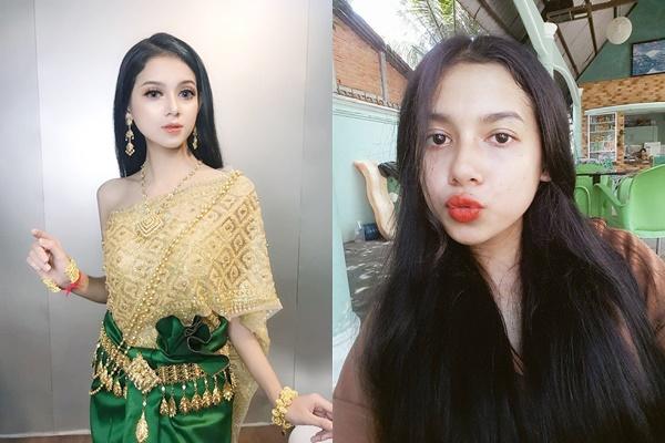"""Say đắm đôi mắt hút hồn của em gái Khmer đẹp như tiên nữ, em tẩy trang đi rồi thì ngã ngửa """"đúng là cú lừa ngoạn mục"""""""