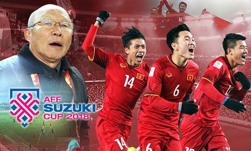 AFF Cup 2018 - Hóng tin thắng trận từ thầy Park và các học trò