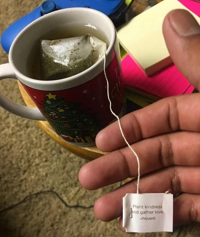 3. Túi trà - Túi trà ấm đặt trực tiếp lên chiếc răng giúp làm giảm cảm giác sưng đau. Ngoài ra, axit tannic có trong trà còn giúp chống viêm.