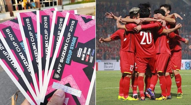 Cách mua vé online trận bán kết lượt về AFF Cup 2018 Việt Nam - Philippines trên sân Mỹ Đình