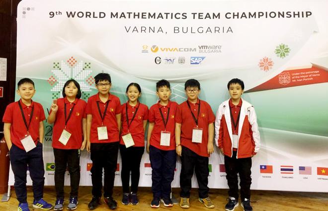 Việt Nam giành 9 huy chương vàng trong kỳ thi vô địch các đội tuyển Toán thế giới