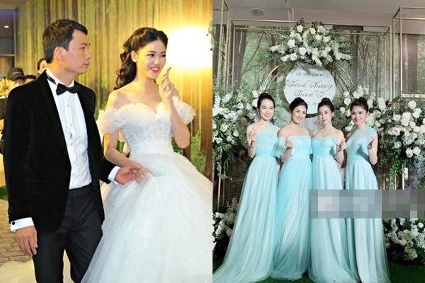 Điểm mặt dàn phù dâu toàn Hoa hậu Á hậu xinh đẹp, lộng lẫy hơn cả cô dâu trong đám cưới Thanh Tú