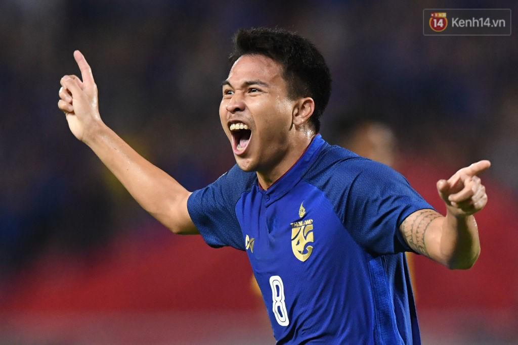 Thái Lan có bàn thắng dẫn trước ở phút 21.