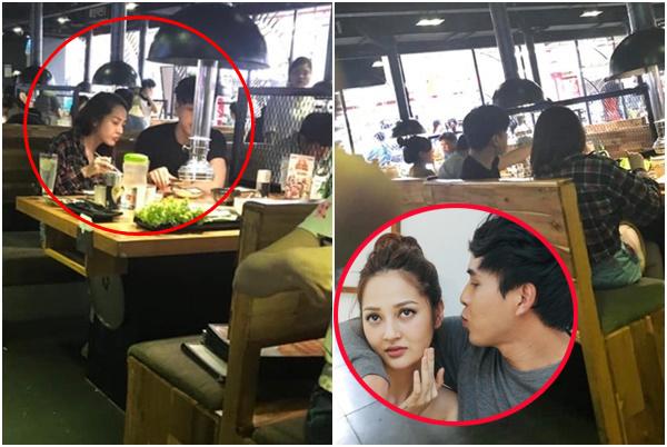 Bắt gặp Bảo Anh - Hồ Quang Hiếu đánh lẻ ăn đồ nướng với nhau, ngồi sát sạt, tình cũ không rủ cũng đến
