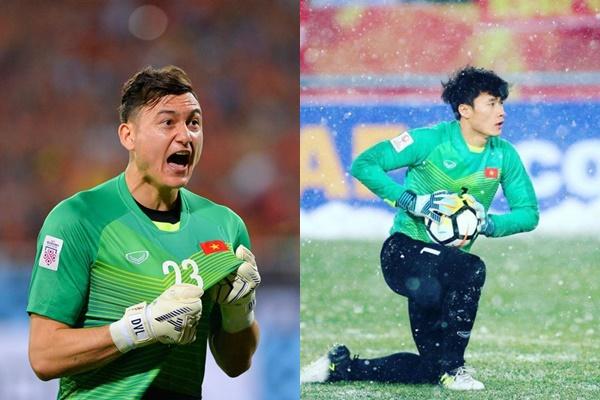 """Không chỉ suất làm thủ môn bắt chính, Đặng Văn Lâm và Bùi Tiến Dũng còn """"cạnh tranh"""" cực gắt ở khía cạnh này"""
