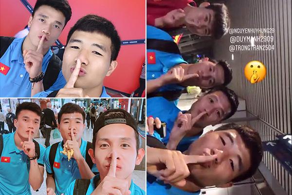 """Đồng loạt đăng ảnh cùng biểu cảm """"nâng 1 ngón tay"""", các cầu thủ Việt Nam khiến dân tình """"vò đầu bứt tai"""" suy đoán ẩn ý"""