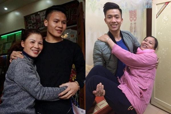 """Về bên """"người phụ nữ đẹp nhất"""", dàn cầu thủ tuyển Việt Nam giản dị đến mức thế này"""