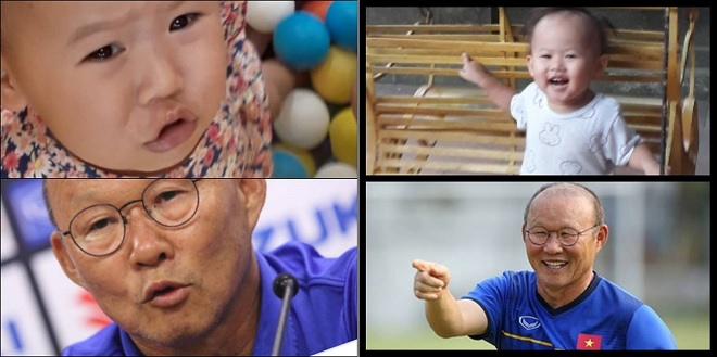 """""""Bản sao nhí"""" của HLV Park Hang-seo khơi dậy phong trào các bé """"pose"""" ảnh biểu cảm giống thầy Park"""