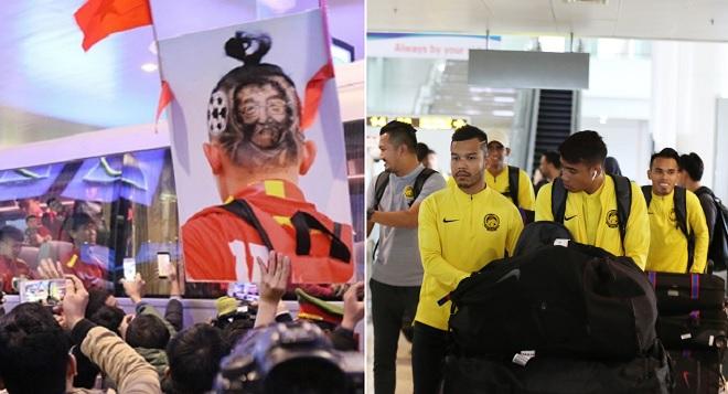 """Chưa đá chung kết AFF Cup lượt về, Malaysia đã """"thua"""" Việt Nam ngay khi bước xuống sân bay Nội Bài"""