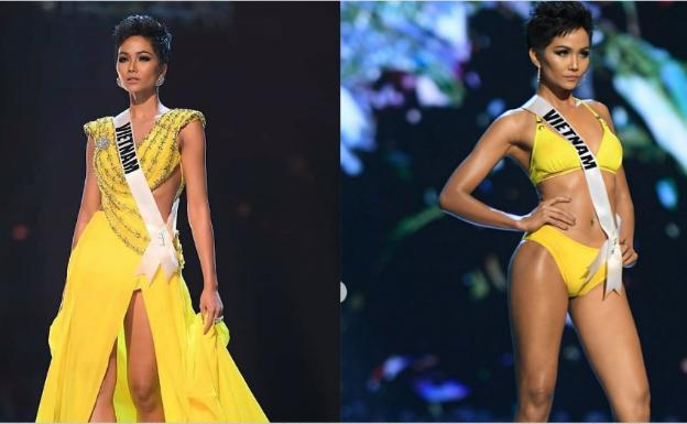 Cú xoay người đẳng cấp của H Hen Niê khiến cả thế giới nể phục trong bán kết Miss Universe 2018