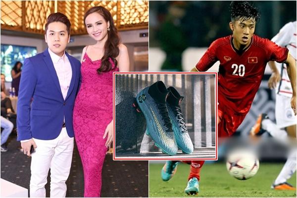 """Sao Việt tặng Đức """"cọt"""" giày thi đấu phiên bản giới hạn của Ronaldo khi biết anh chàng đang 'xài' giày rách"""