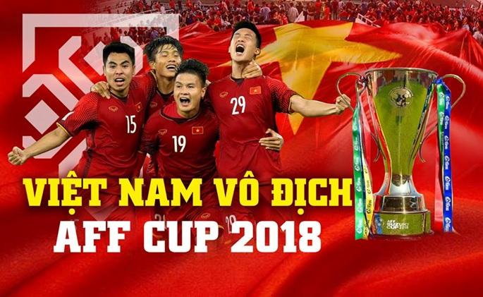 Việt Nam vô địch AFF Cup: Chiến tích vinh quang của thế hệ vàng