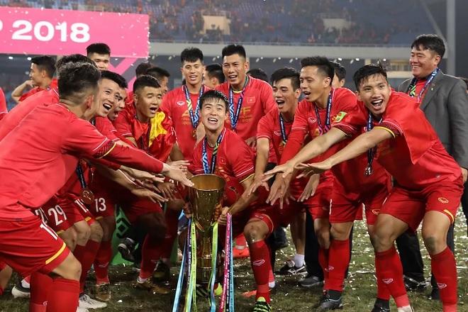 Liên đoàn Bóng đá châu Á và Tổng thống Hàn Quốc cùng gửi lời chúc mừng Việt Nam vô địch AFF Cup