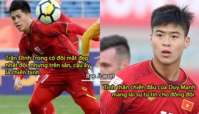 Những nhận xét thú vị về các chàng trai ĐT Việt Nam trong lá thư chia tay xúc động của trợ lý thầy Park