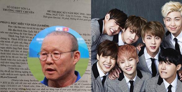 """Học sinh là fan bóng đá hoặc fan BTS sướng """"phát cuồng"""" khi đề thi Ngữ văn có đủ các nhân vật này"""