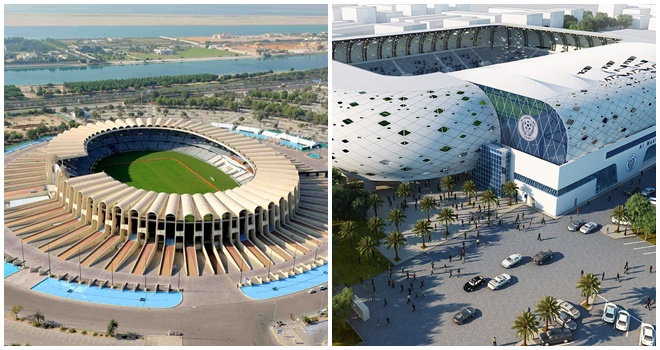 ĐT Việt Nam thi đấu trên 2 sân bóng đẹp nhất UAE tại Asian Cup 2019