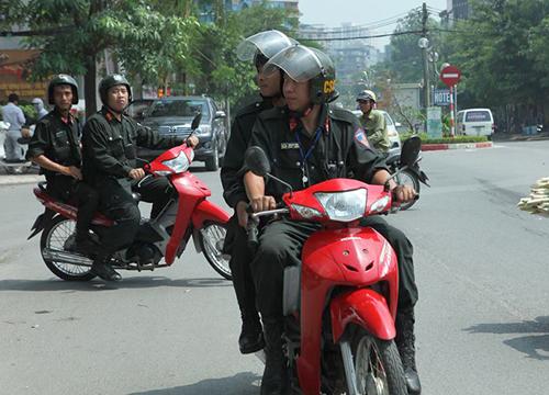 Triển khai 24 tổ công tác đặc biệt tuần tra, xử phạt người không đội mũ bảo hiểm tại Hà Nội