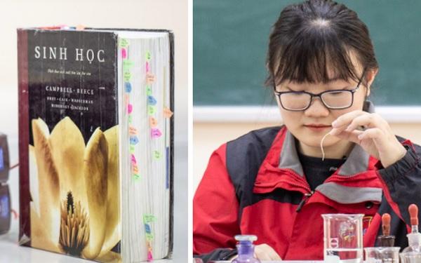 """Bí ẩn """"bảo bối"""" giúp học giỏi của Phương Thảo - Cô gái """"vàng"""" có điểm thi Olympic Sinh học cao nhất thế giới"""