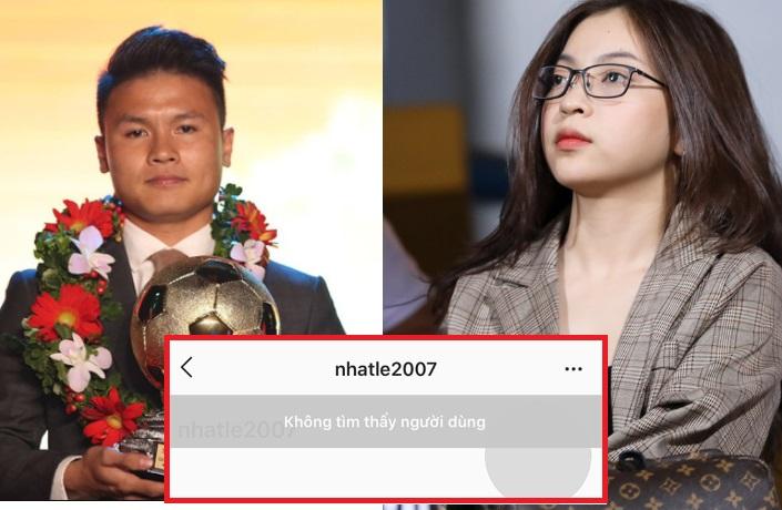 Không đến cổ vũ Quang Hải đá chung kết AFF Cup, Nhật Lê còn khóa Instagram khi biết bạn trai nhận giải QBV Việt Nam 2018!