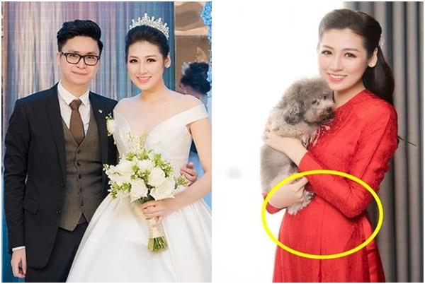 Sau 5 tháng kết hôn với chồng thiếu gia, Á hậu Tú Anh để lộ việc sinh con đầu lòng?