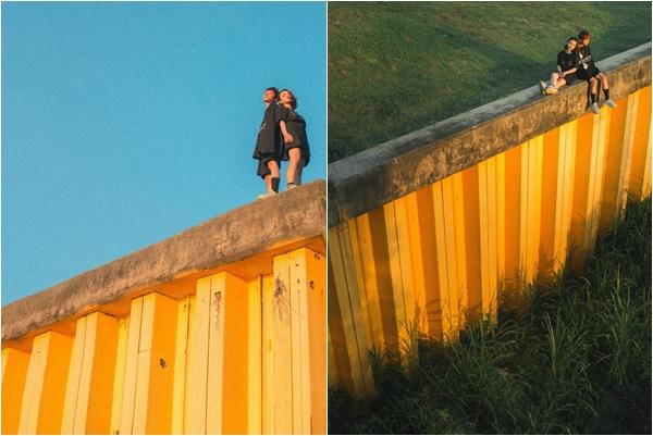 """Đổ xiêu đổ vẹo trước """"bức tường vàng"""" thần thánh ở tọa độ được ví là """"nàng Lọ Lem"""" của Đà Nẵng"""