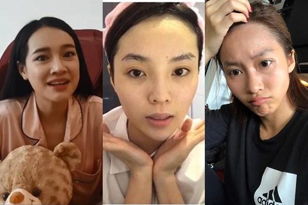 """Dàn mỹ nhân Việt tự tin để """"mặt mộc"""": người vẫn được khen xinh hết nấc, kẻ bị chê thảm hại vì lộ nhược điêm"""