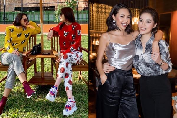 Cạch mặt Jolie Nguyễn, Kỳ Duyên lập tức khẳng định tình bạn mới với Minh Triệu khi liên tục diện đồ đôi với nhau