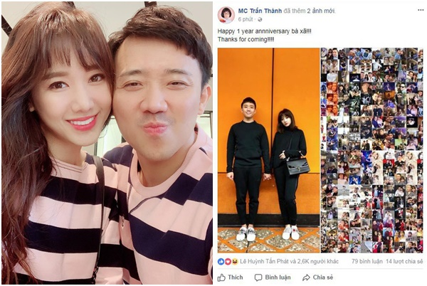 """Kỷ niệm 2 năm ngày cưới, Trấn Thành - Hari Won ngộ ra đâu mới là """"đúng người, đúng thời điểm"""""""
