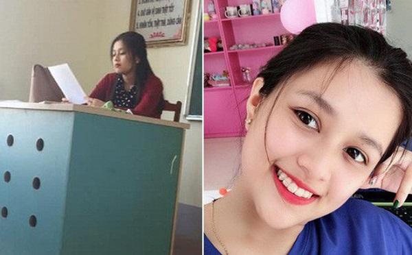 Cô giáo dạy Văn xinh đẹp như hot girl, nổi tiếng nhờ bức hình chụp lén của học sinh
