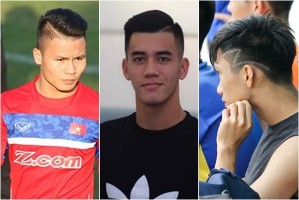 Không chỉ ăn ý trên sân cỏ, các cầu thủ U23 còn hợp nhau khoản làm đẹp: một kiểu đầu, cả đội cắt theo