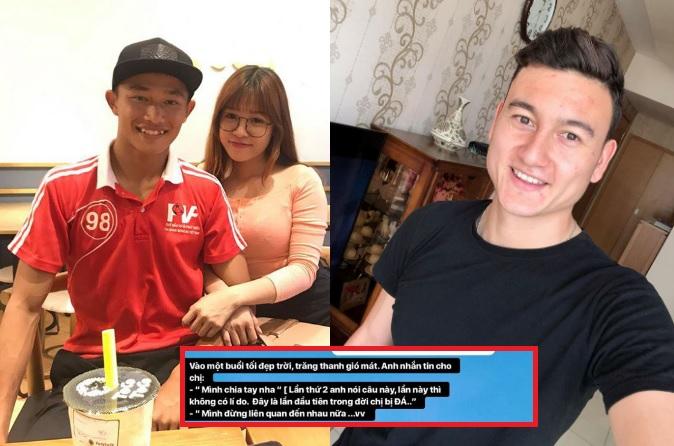 """Bạn gái Đặng Văn Lâm lần đầu trải lòng về tình cũ kém tuổi: Vào một buổi tối đẹp trời, anh nhắn tin """"mình chia tay nha""""!"""