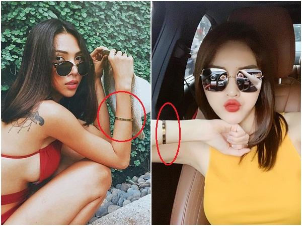 """Giữa tin đồn tình cảm, Minh Triệu - Kỳ Duyên lại tiếp tục lộ """"tín vật tình yêu"""" chỉ có cặp đôi mới sử dụng"""