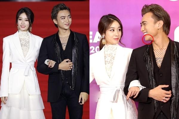 """Cười tít mắt sánh đôi cùng mỹ nhân T-Ara, Soobin Hoàng Sơn lại khiến fans lo lắng vì quả cằm như sắp """"rớt"""" đến nơi"""
