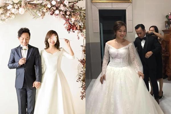Nghi án vợ Tiến Đạt dính bầu: Chỉ sau 1 tháng chụp ảnh cưới, người nở nang thấy rõ