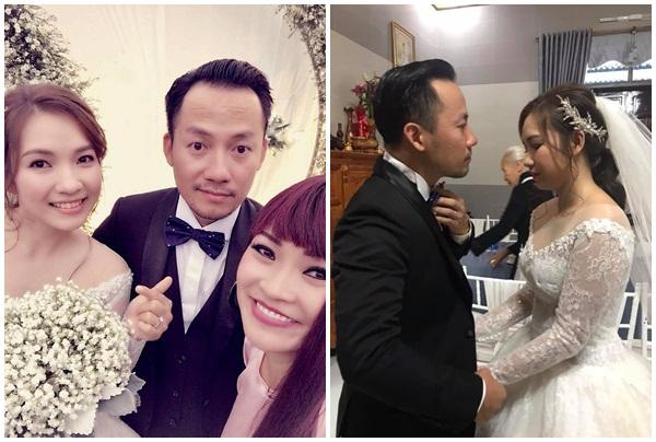 Lộ ảnh cưới Tiến Đạt và bạn gái mới, cô dâu xinh như hoa, nhưng chú rể hơi...lỗi