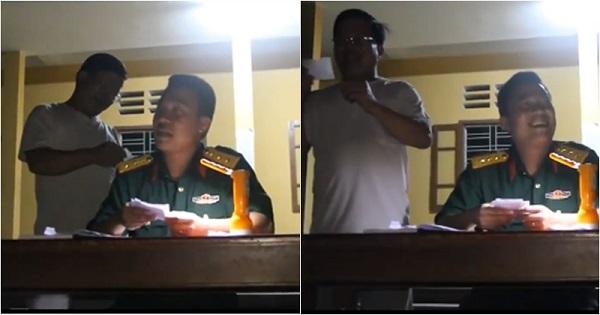 Khi các thầy quân sự chơi trò confession với học trò thì dễ thương và cười vỡ bụng thế này