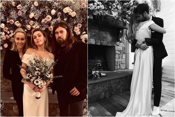 Bí mật ẩn sau chiếc váy cưới giản dị và thông điệp sâu cay của Miley Cyrus về đám cưới 10 năm