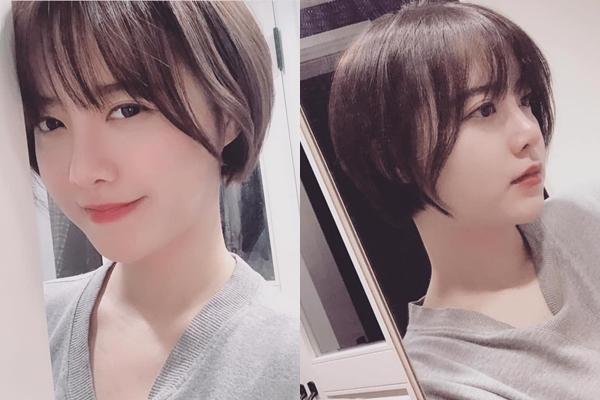 """Lạ lẫm với mái tóc ngắn tomboy cực cá tính, """"nàng cỏ"""" Go Hye Sun khiến fans hôt hoảng vì """"lão hóa ngược"""" như gái 18"""
