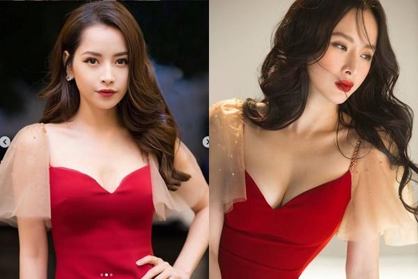 """Pha đụng hàng đầu năm mới: Chi Pu """"kém sắc"""" bên cạnh Angela Phương Trinh vì đặc điểm này"""